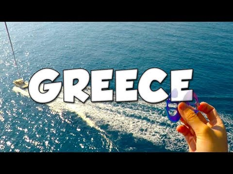 GREECE VLOG - FACE REVEAL!?