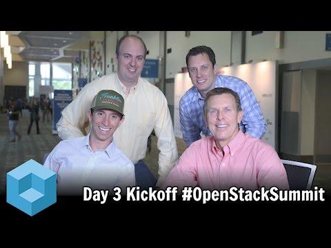 Day 3 Kickoff (Austin Food Analysis) - #OpenStack Summit 2016 - #theCUBE