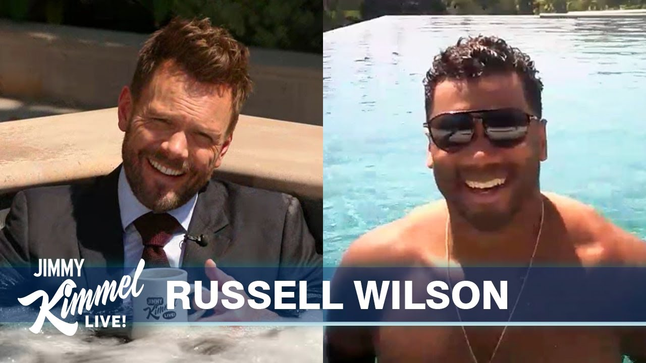Guest Host Joel McHale Interviews Russell Wilson – NFL Season, Ciara's Pregnancy & Mahomes Deal