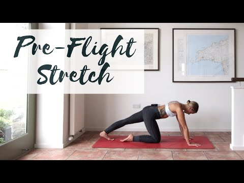 PRE-FLIGHT STRETCH | All Levels Yoga Stretch | CAT MEFFAN