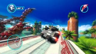 Sonic & All Stars Racing: Transformed (PC) walkthrough - Dragon Cup - Ocean View