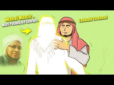 Mengharukan, Rasululloh Mengajak Habib Munzir Al Musawwa Pulang Ke Syurga