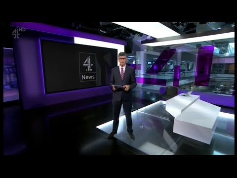 Channel 4 News - (Main Programme) - 26th August 2017