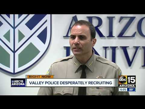 Police agencies in Arizona in need to fill jobs