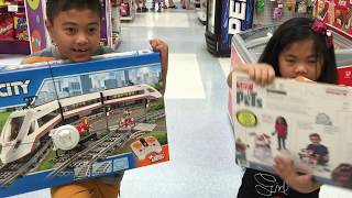 Toys R Us Lego RC High Speed Train & Max The Secret Life of Pets