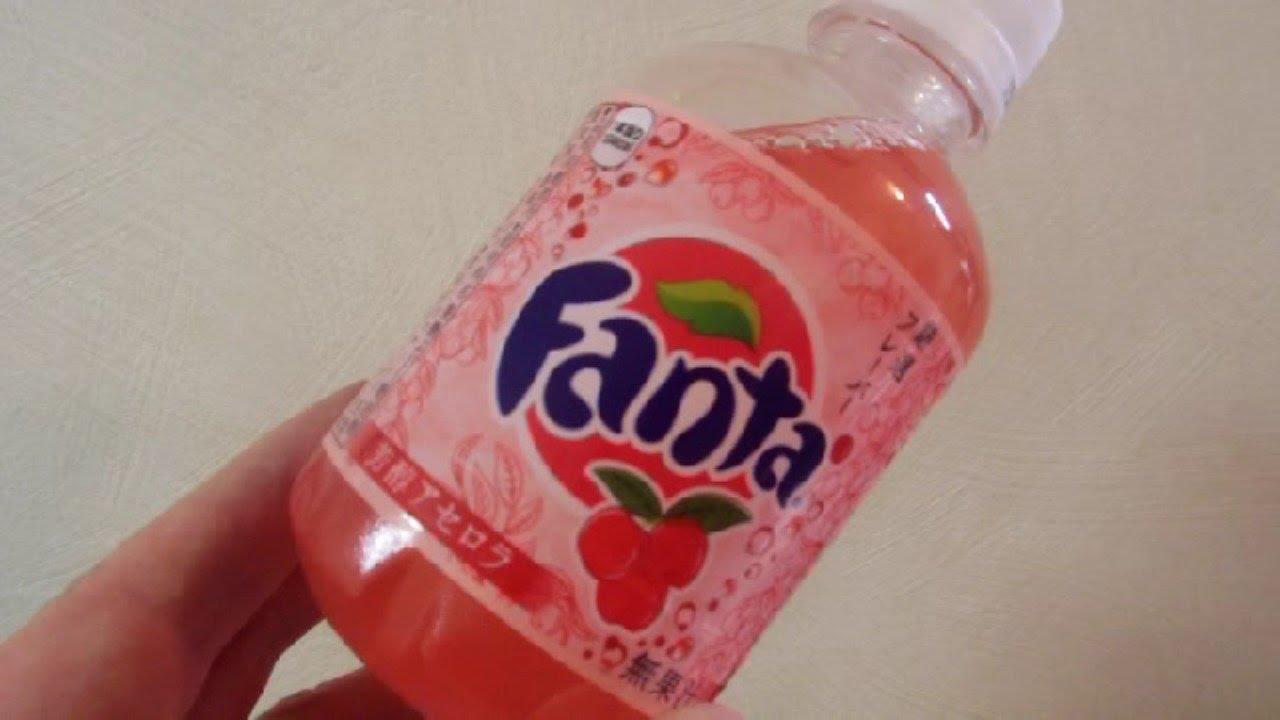 Acerola Flavored Fanta In Japan Youtube