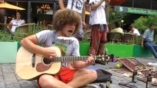 Berlin Street Musician: Bob Dylan - My Back Pages