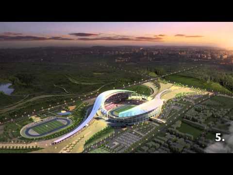 10 venues at 17th Asian Games Incheon 2014 (South Korea)