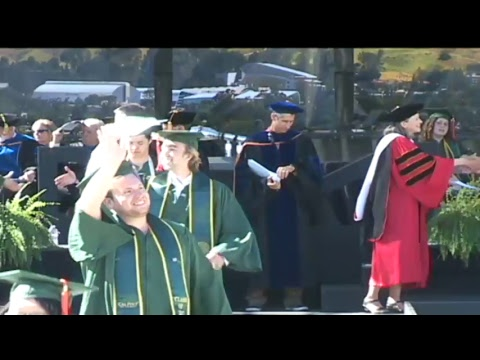 2017 Cal Poly Spring Commencement: Saturday 3pm Ceremony