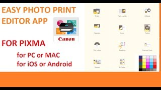 canon Easy Photo Print Editor for PIXMA