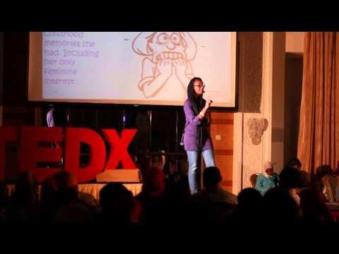 Lina at TEDxYouth@Khartoum 2012