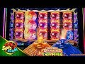 Volcanic Rock Fire Twin Fever BIG BONUSES!!! Konami Slot in Morongo Casino