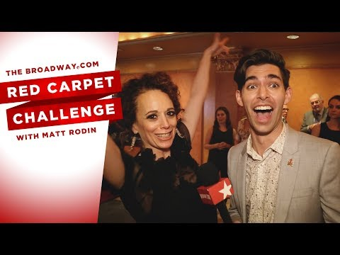 RED CARPET CHALLENGE: TIME AND THE CONWAYS with Elizabeth McGovern, Anna Camp, Skylar Astin and more