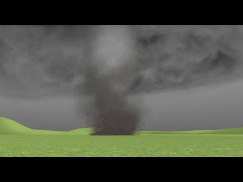 Garry's Mod - gDisasters - EF3 Tornado Encounter