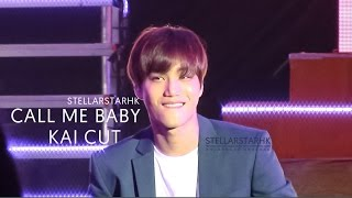 [HD Fancam]160326 K-Friends Concert in Shanghai - Call Me Baby (KAI Cut)