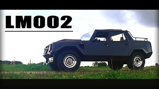 LAMBORGHINI LM002 1988 - Full test drive in top gear - V12 Engine sound | SCC TV