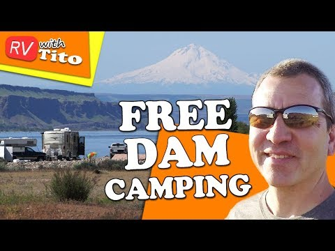 Columbia River Gorge by RV - Camping and Exploring Dams