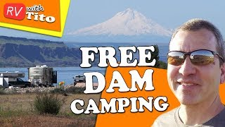 Free Camping in Washington Along The Columbia River (Boondocking)