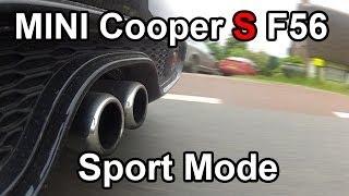 Mini Cooper S 2014: Exhaust Sound In Sport Mode