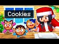 Eating ALL of the COOKIES In Minecraft!