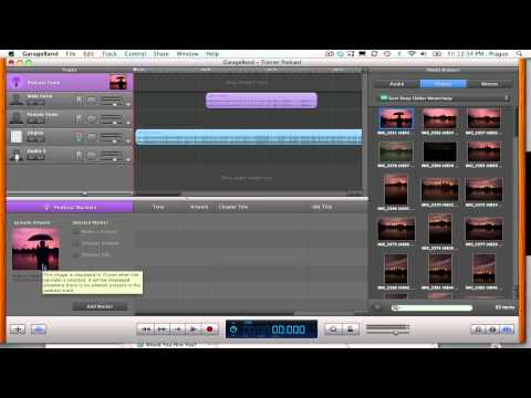 Export Podcast from GarageBand