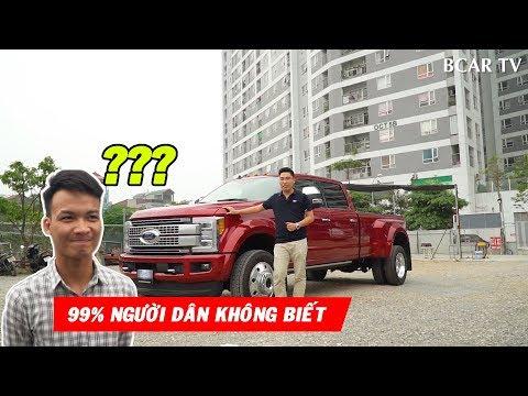 Đánh Giá Xe Ford F450 - Chiếc xe Khủng nhất Bán Tải  Vừa Về Việt Nam