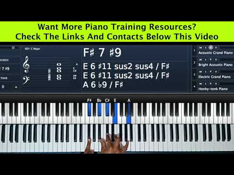 Key D Piano Tutorial Series Part 7  Song Example You Are Alpha And Omega