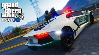 GTA 5 - LSPDFR #65 | Dubai Lamborghini Highway Patrol
