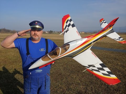 Freewing Avanti S Red 80mm EDF Ultimate Sport Jet - PNP Maiden flight