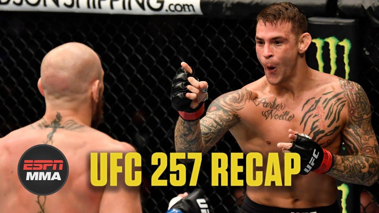 UFC 257 Recap: Dustin Poirier knocks out Conor McGregor | ESPN MMA