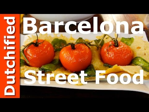 Spanish Food - Barcelona Food at La Boqueria Market