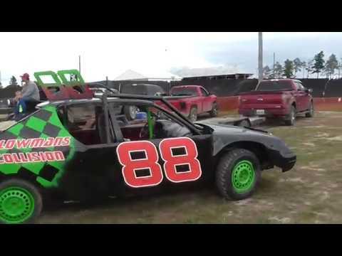 Alpena Bump And Run Racing 2017!! Dirt Track Racing Alpena County Fair!!