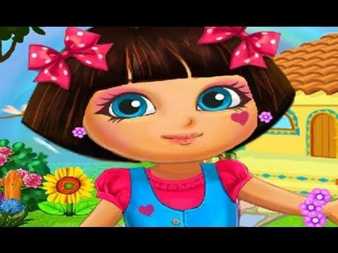 Dora The Explorer Real Makeover Full Episode Children Game