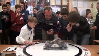 "1/2 Роботурнира: "" Ян и робот"" VS ""Itransition"""
