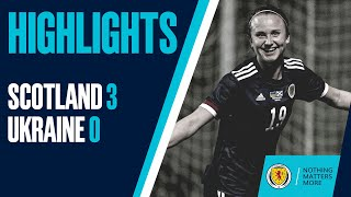 HIGHLIGHTS Scotland 3 0 Ukraine SWNT Scotland Women s National Team