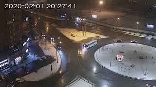 ДТП на кольцевой проспекта Победы 1.02.2020