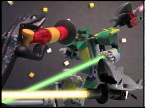 LEGO NSP - Dinosaur Laser Fight