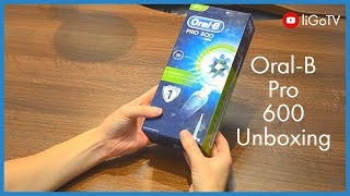 Oral B Pro 600 Unboxing
