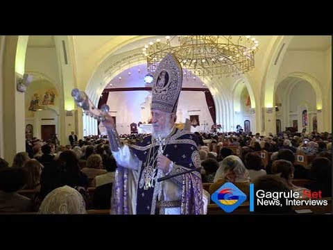 Burbank: GagruleLive Coverage Of His Holiness Catholicos Karekin II