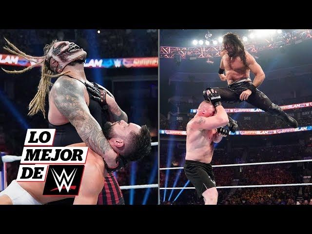 Bray Wyatt redebuta y Seth Rollins caza a La Bestia: Lo Mejor de WWE