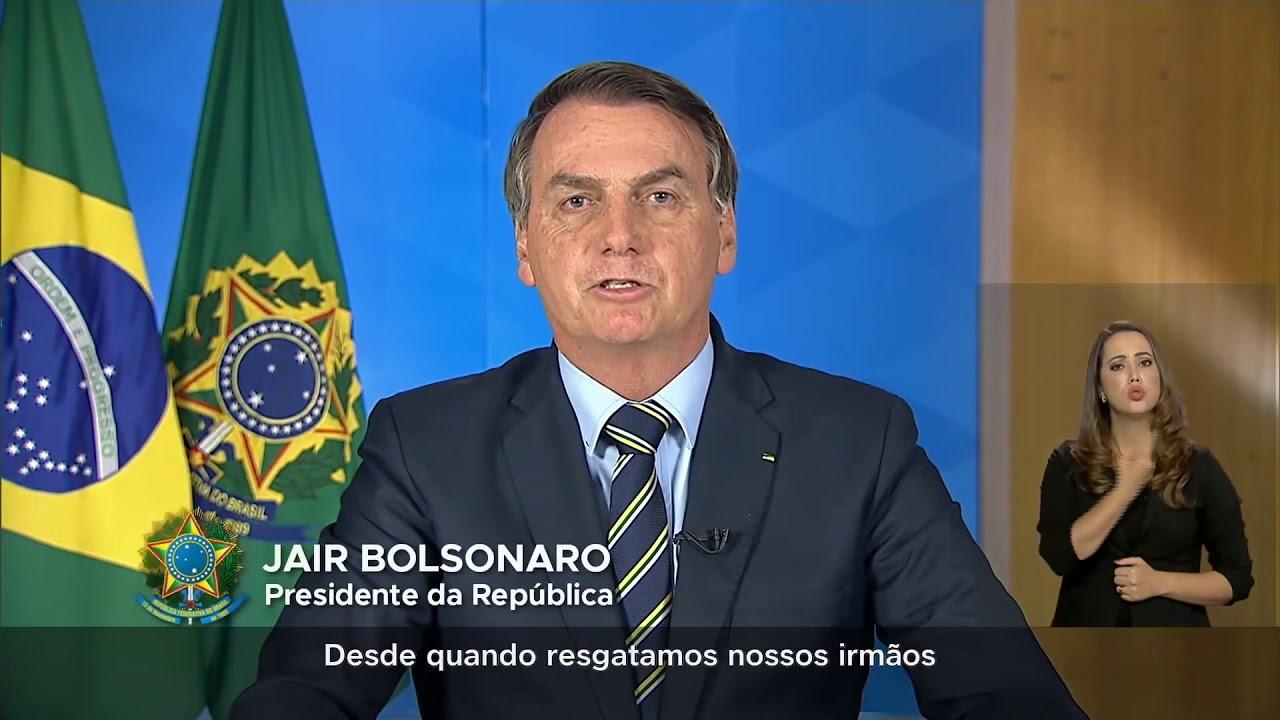 PRONUNCIAMENTO OFICIAL PRESIDENTE JAIR MESSIAS BOLSONARO 24-03-2020