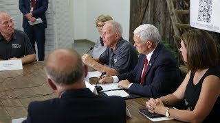Vice President Pence's Obamacare Listening Session with Kentucky Small Business Owners thumbnail