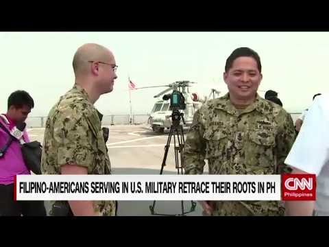 Filipino-Americans serving in U.S. military retrace roots in PH