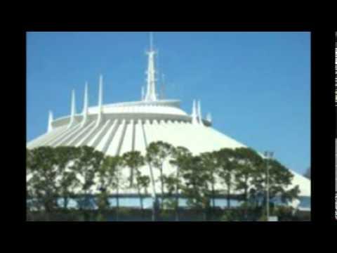 Space Mountain - Exterior Music Loop - Walt Disney World ...