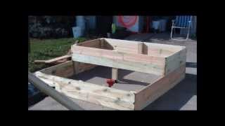 Building A Double Decker Raised Bed With Trellis