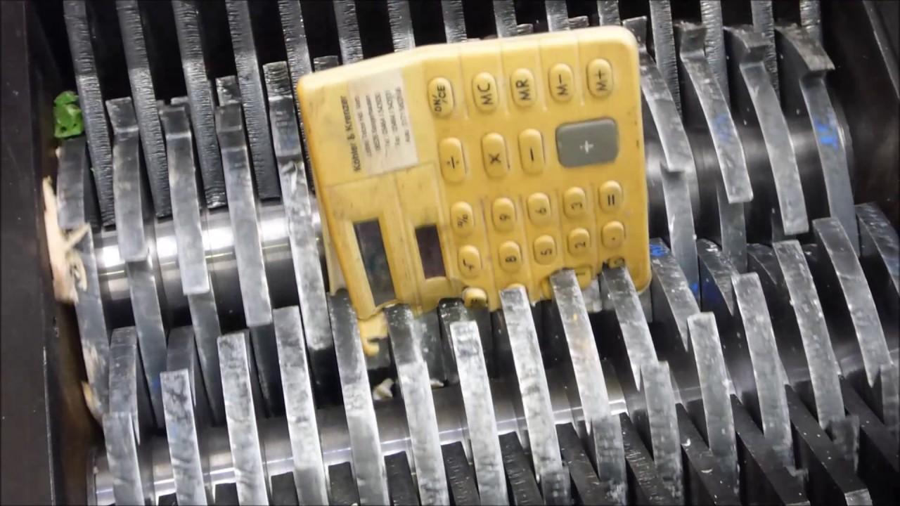 Electronics Shredder 72
