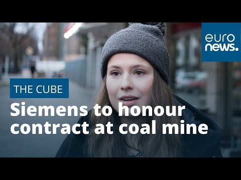 Siemens To Honour Contract At Australian Coal Mine Despite Calls From Climate Activists | #TheCube