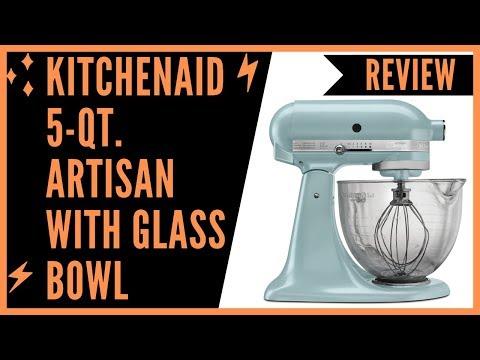 KitchenAid KSM155GBAZ 5-Qt. Artisan Design Series with Glass Bowl Review