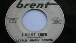 Little Jimmy Brown - I Didn