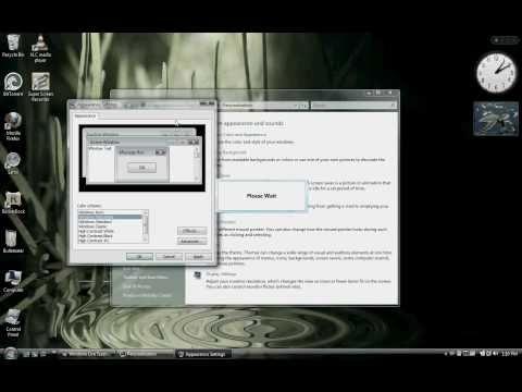 How To Make Vista Taskbar Transparent!!!